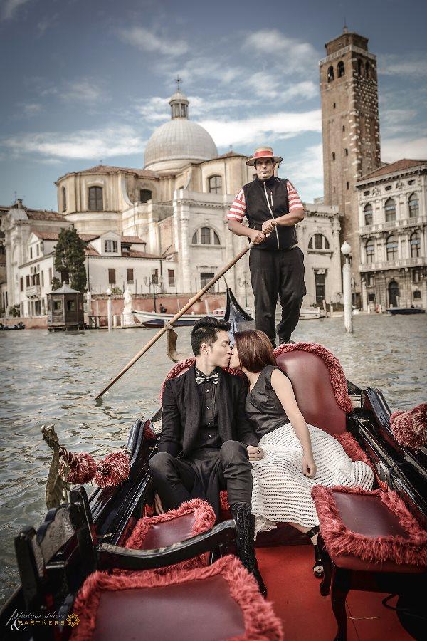 A romantic gondola ride.