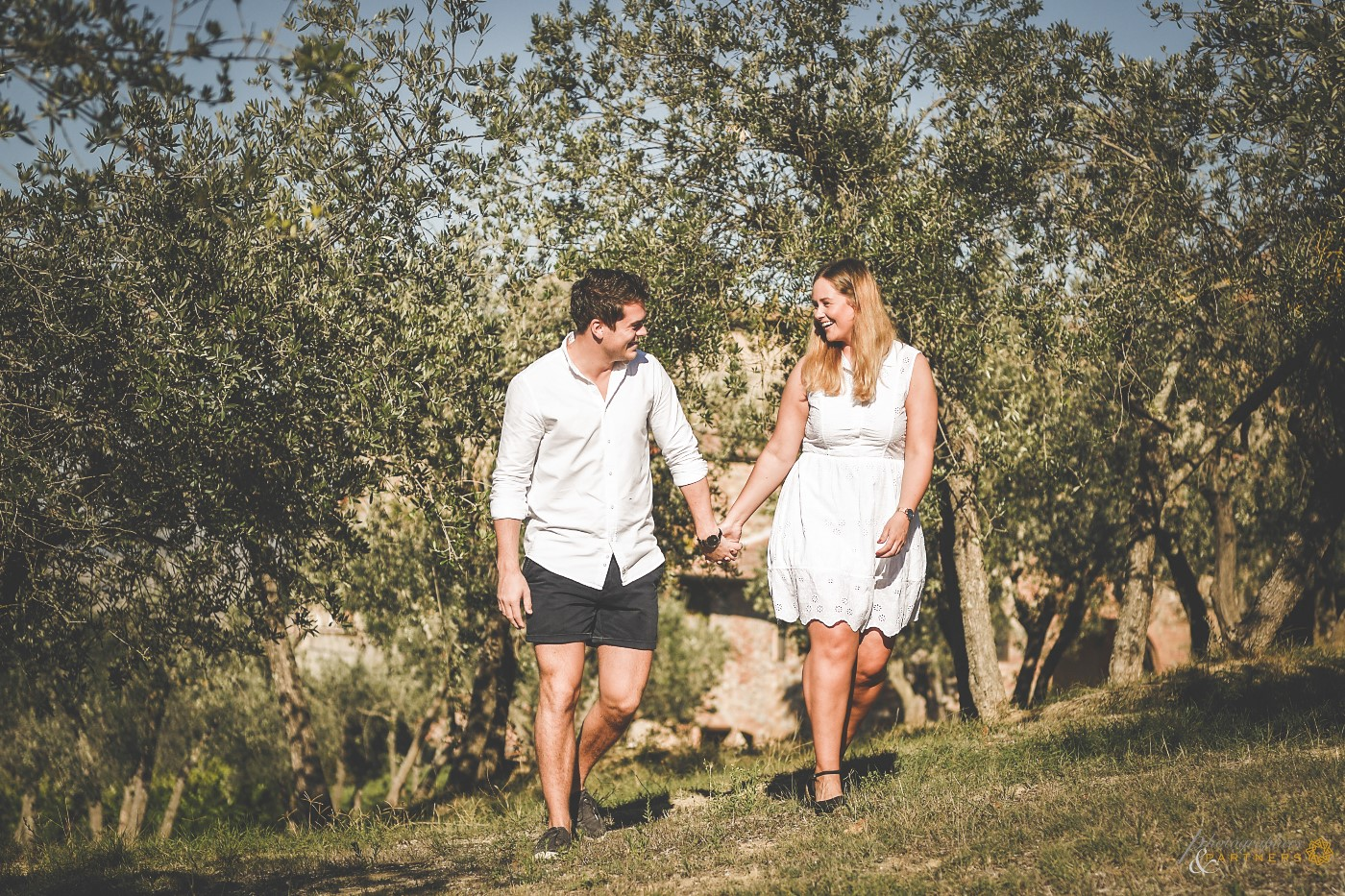 Two steps among the olive trees...