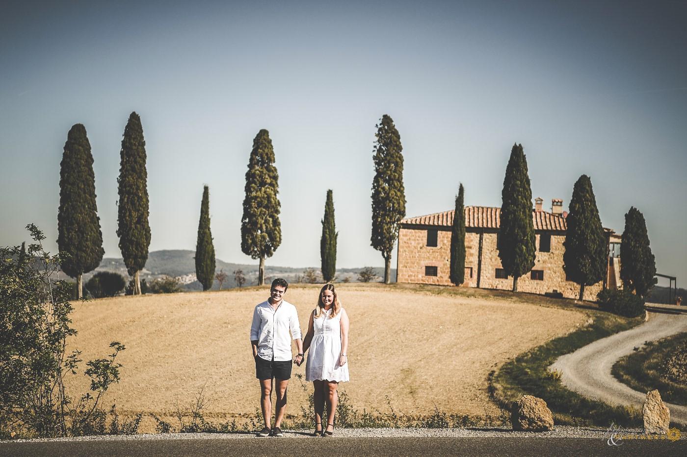 Fantastic Tuscan glimpse near Pienza