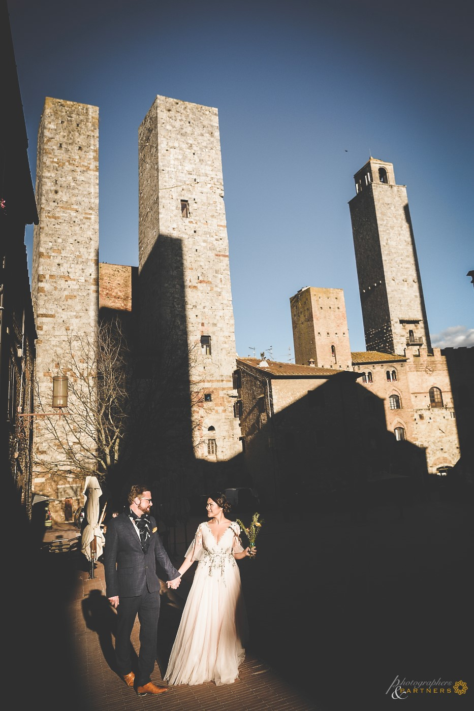 The magnificent towers of San Gimignano