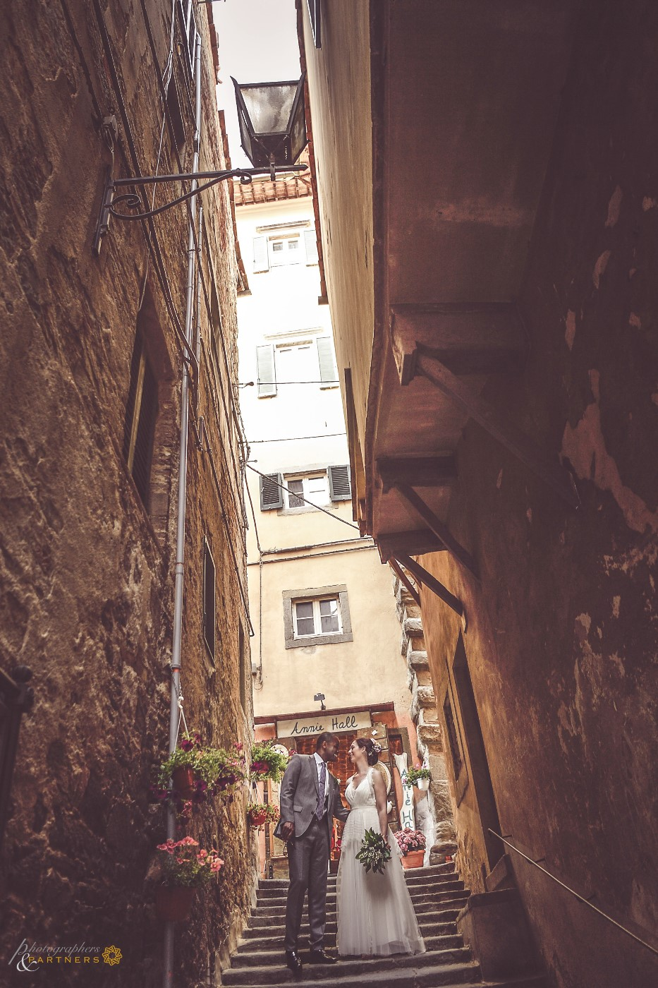 Some photos in the alleys of Cortona