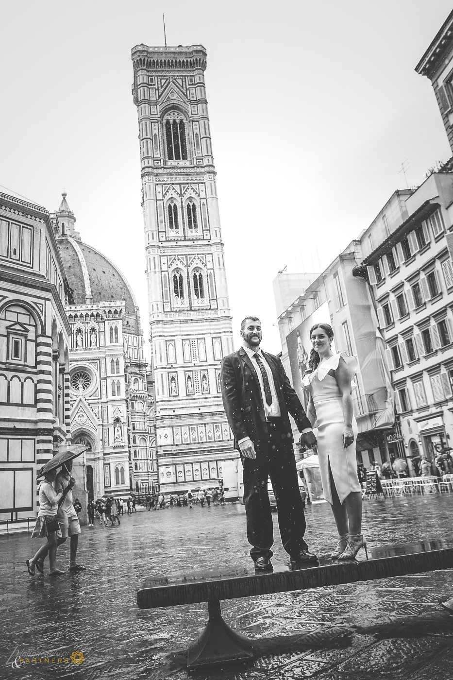 To the Duomo along with the rain ☔️