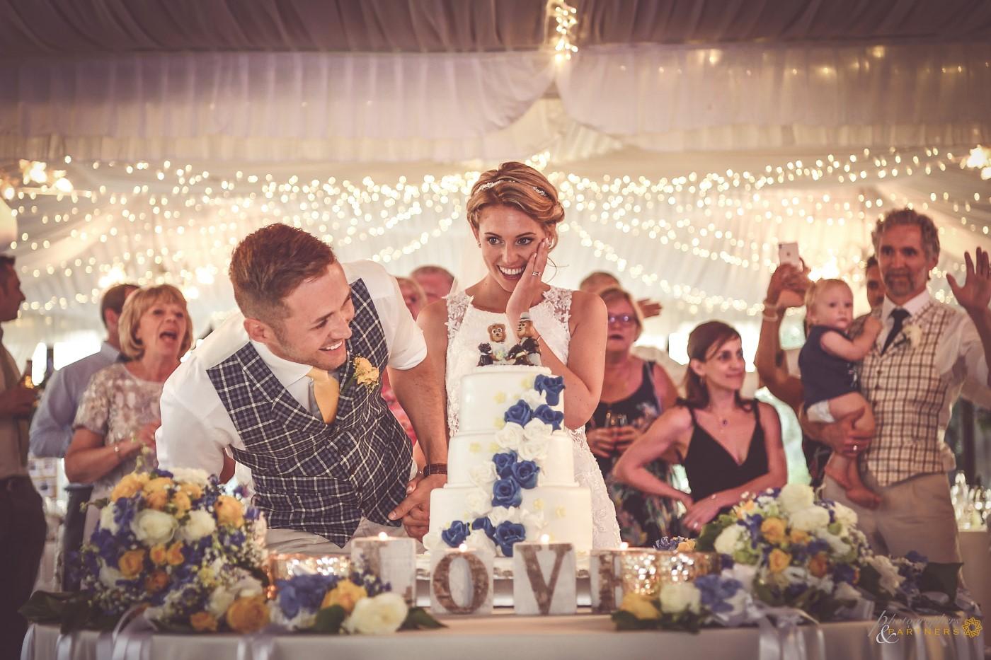 Our wedding cake 🍾