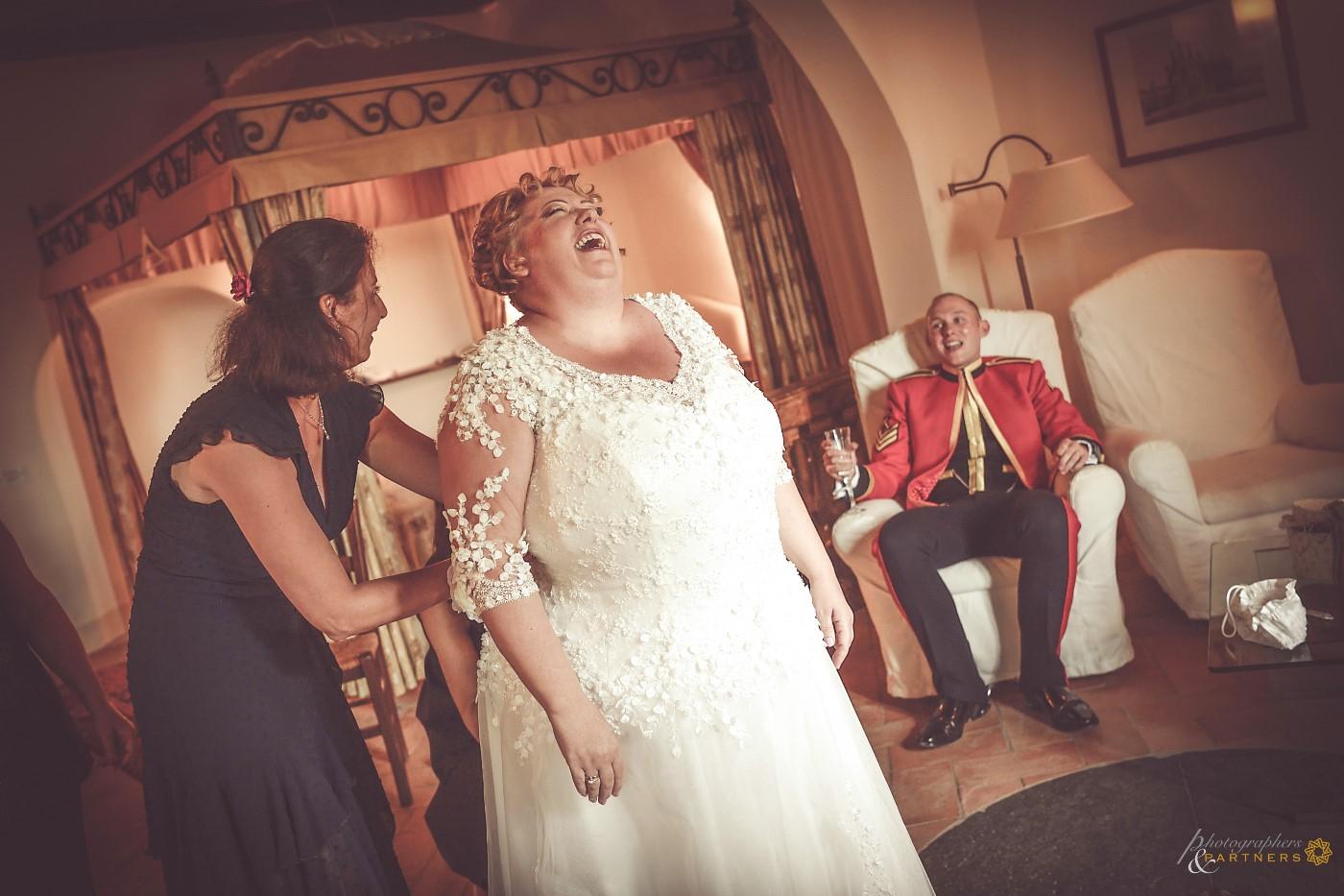 Bride's preparations 💐