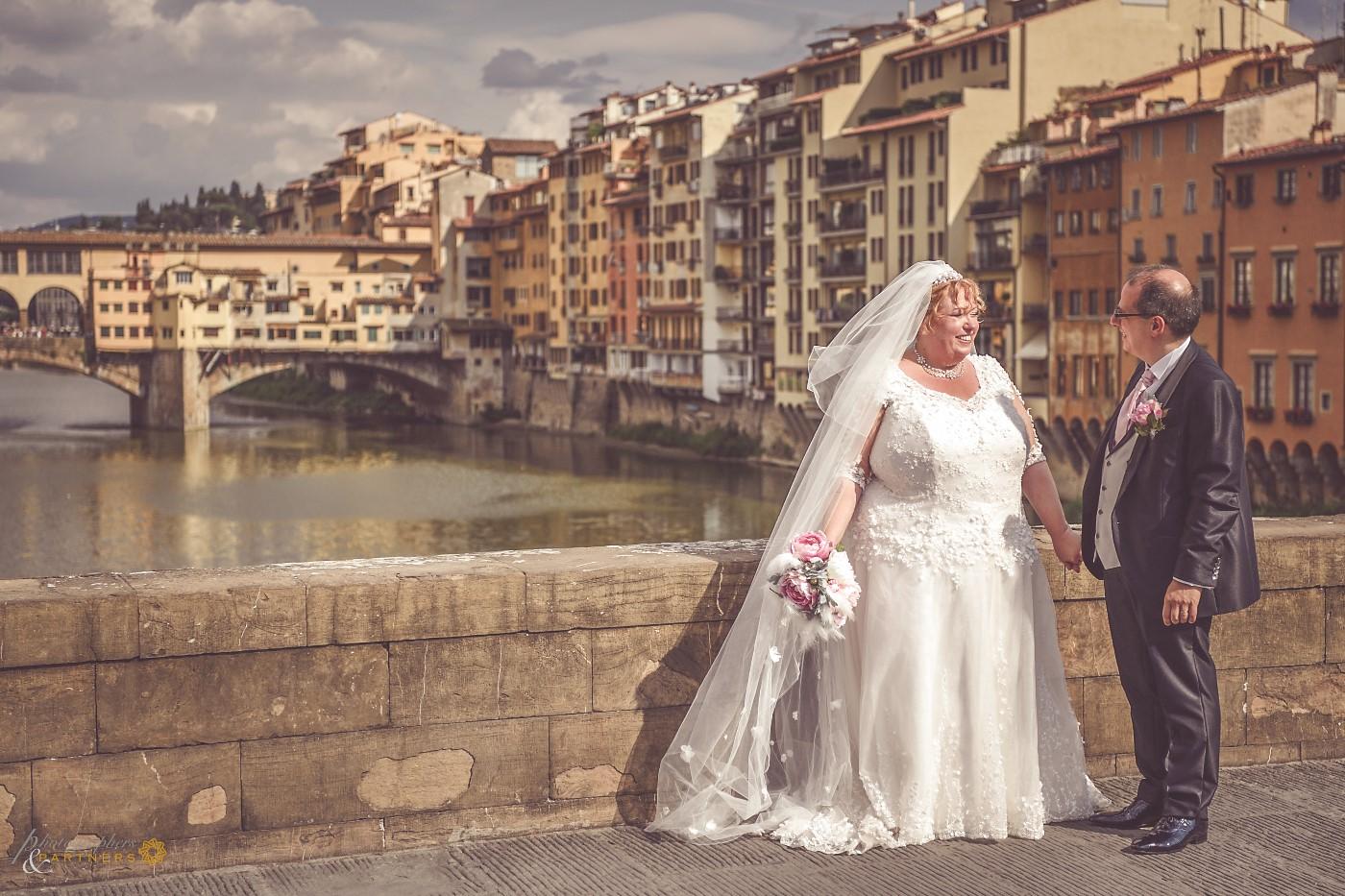 A photo near the Ponte Vecchio.