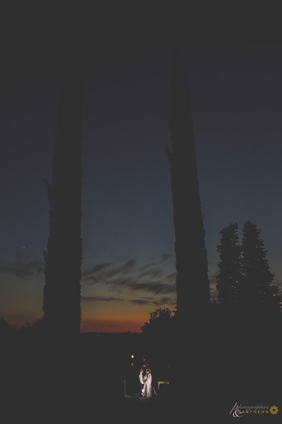 The blue hour.