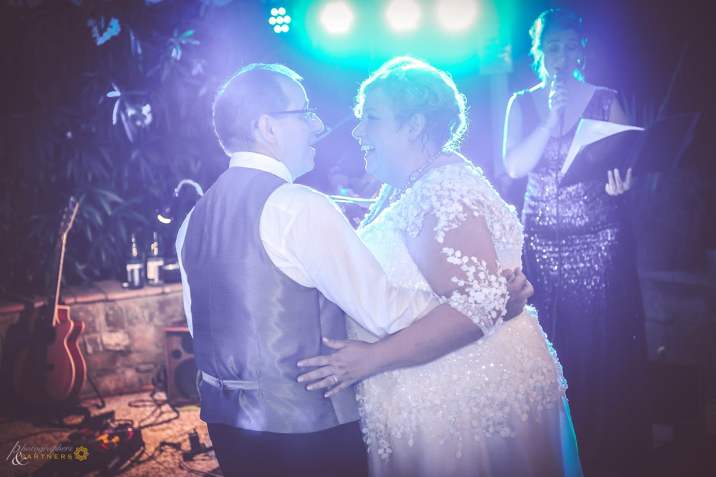 First dance with a special song.