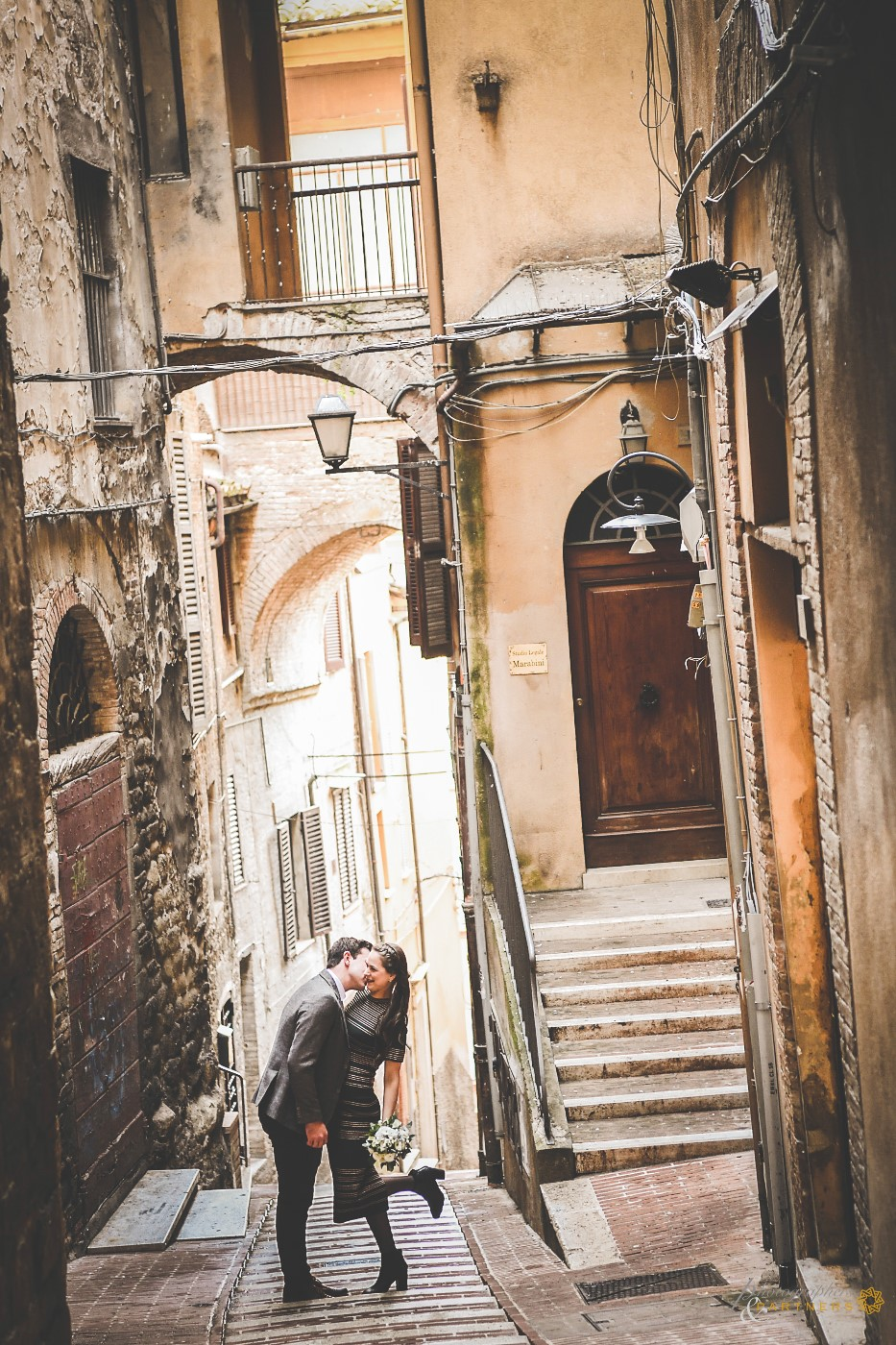 A photo in the alleys of Perugia.