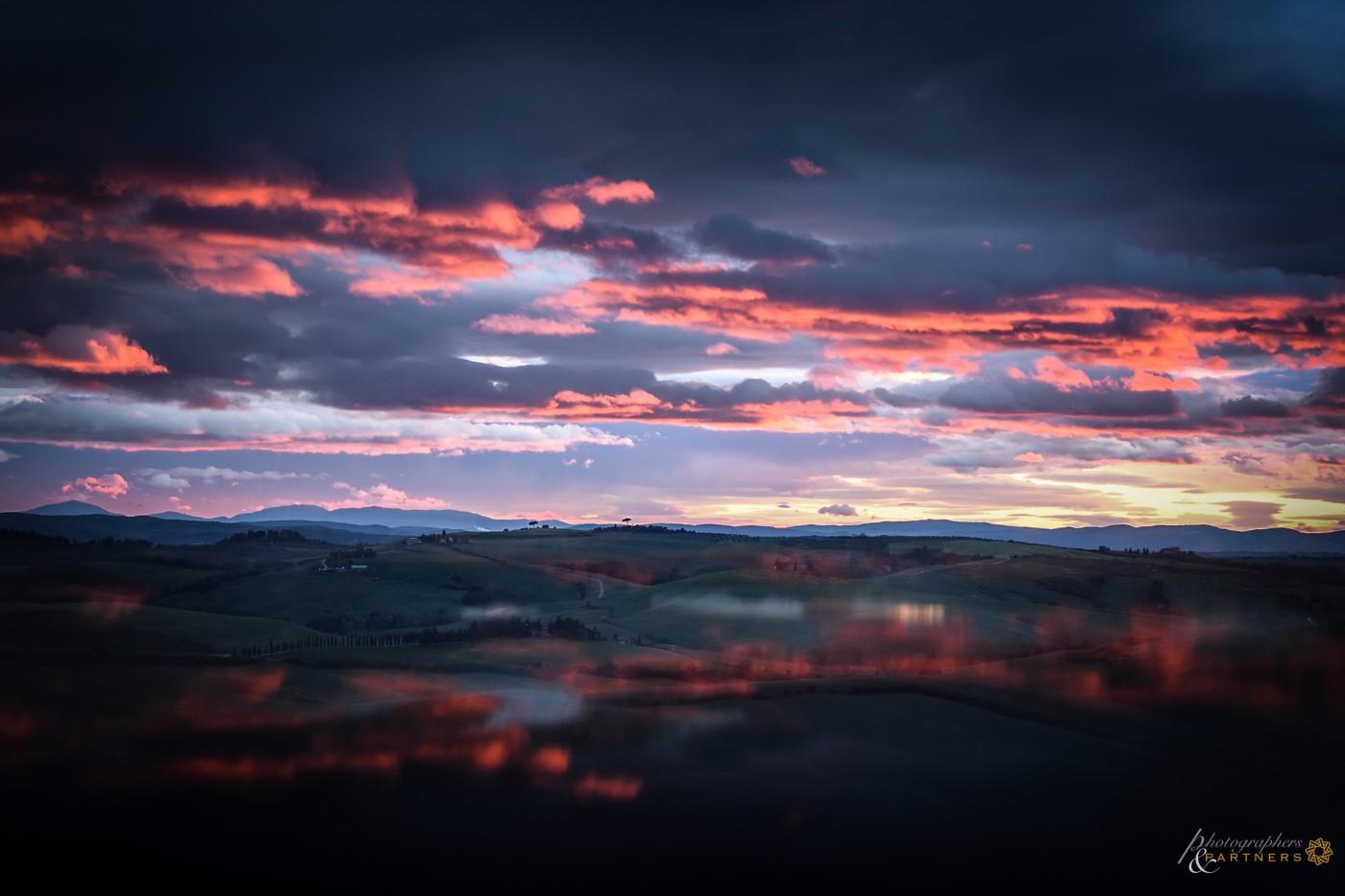An fantastic sunset