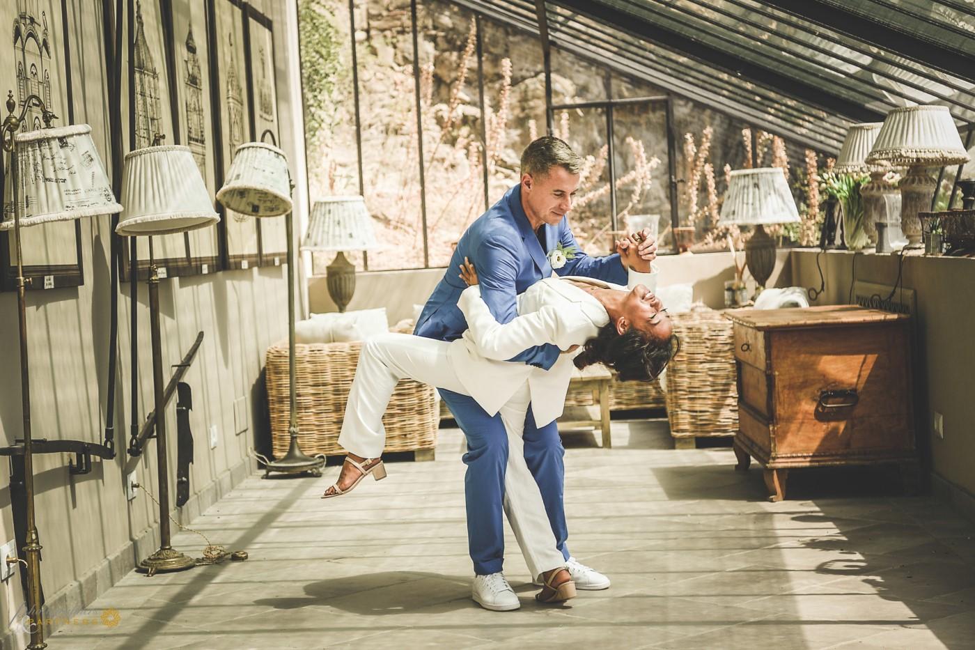 A passionate dance.