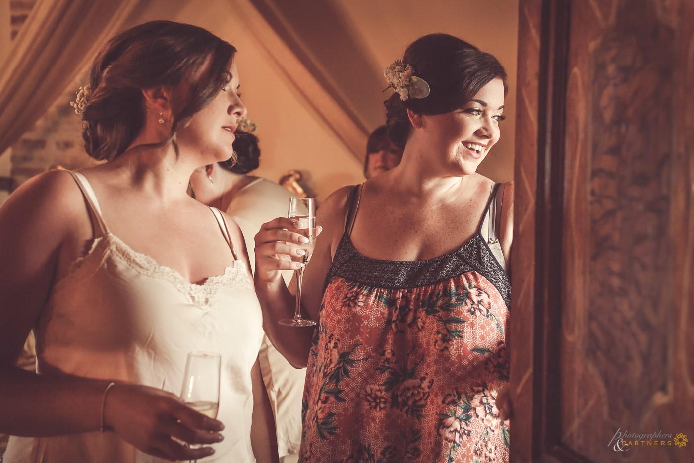 Bride get ready.