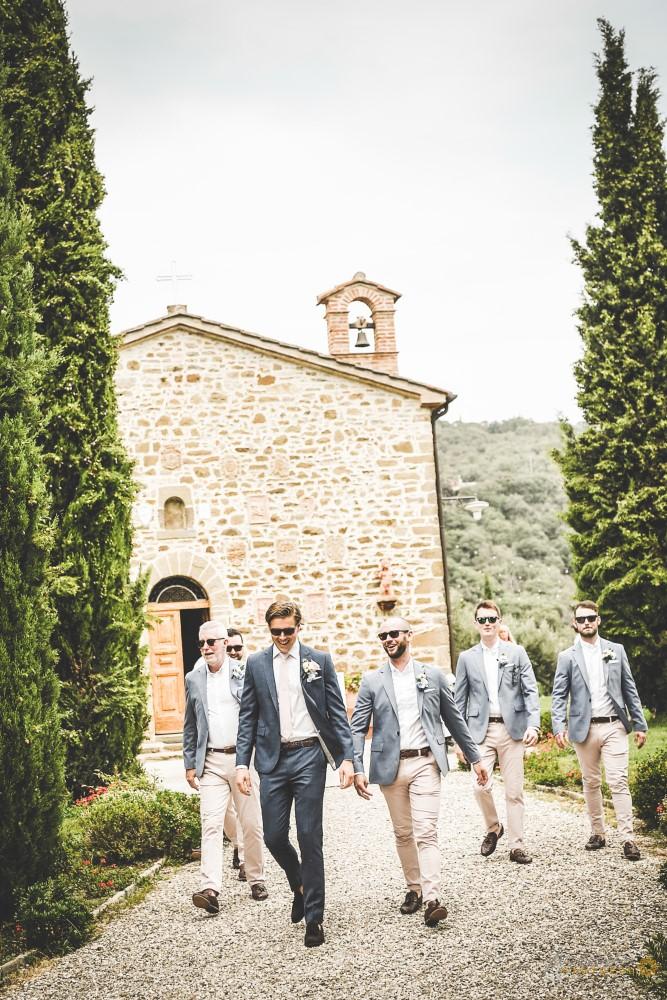 The boys leave for Cortona.