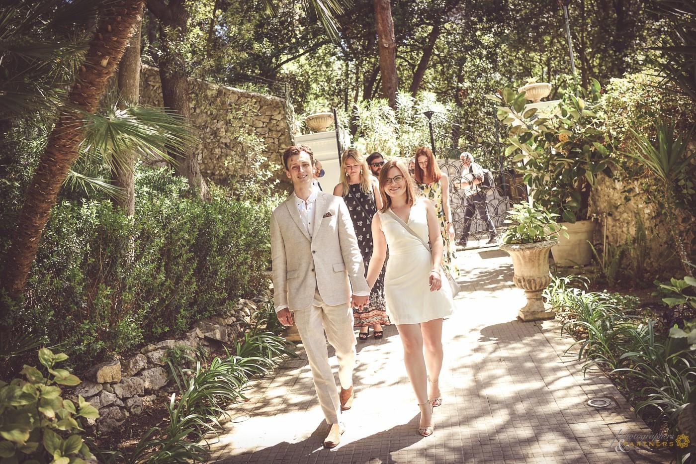 We enter in the villa 🍃