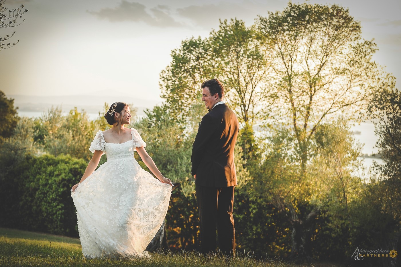 My beautiful wedding dress.
